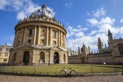 Appareil-photo de Radcliffe à Oxford Image libre de droits