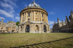 Appareil-photo de Radcliffe à Oxford Images libres de droits