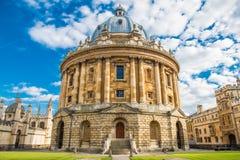 Appareil-photo de Radcliffe, Oxford image stock