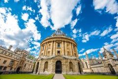 Appareil-photo de Radcliffe, Oxford image libre de droits