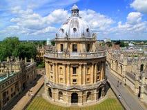 Appareil-photo de Radcliffe, Université d'Oxford Photos stock