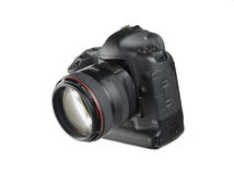 Appareil-photo de SLR Photographie stock
