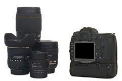 Appareil-photo de SLR Photos stock