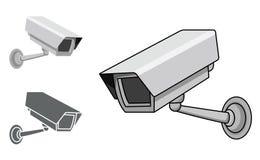 Appareil-photo de télévision en circuit fermé illustration libre de droits