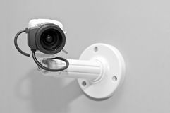 Appareil-photo de télévision en circuit fermé Photos stock
