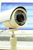 Appareil-photo de télévision en circuit fermé Image libre de droits