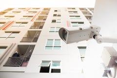 Appareil-photo de télévision en circuit fermé de sécurité Photo stock