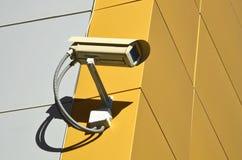 Appareil-photo de télévision en circuit fermé sur le cône Image stock