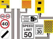 Appareil-photo de vitesse Images libres de droits