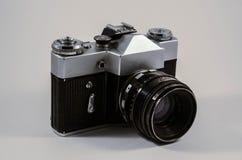 Appareil-photo du cru 35mm SLR Images libres de droits