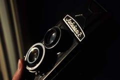 Appareil-photo du cru 35mm SLR Photographie stock libre de droits
