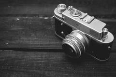 Appareil-photo du cru 35mm SLR Images stock