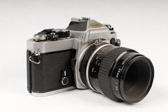 Appareil-photo du film SLR Images stock