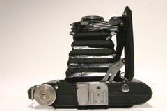 Appareil-photo en accordéon à partir de dessus Photographie stock libre de droits
