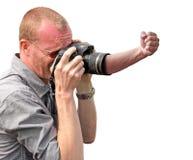 Appareil-photo fâché images libres de droits