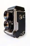 Appareil-photo jumel de lentille Photos libres de droits