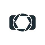 Appareil-photo, logo simple de concept illustration libre de droits