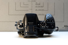 Appareil-photo mirrorless de Panasonic Lumix DMC-GH4 Image stock