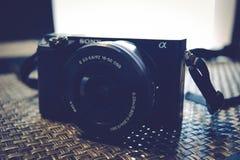 Appareil-photo mirrorless de Sony Image stock