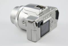 Appareil photo numérique argenté Photos stock