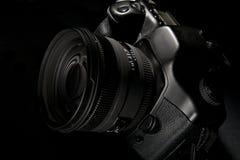 Appareil photo numérique D-SLR Photographie stock