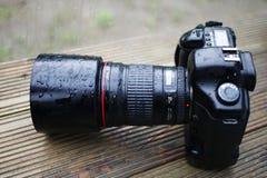 Appareil photo numérique de DSLR Images stock