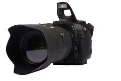 Appareil photo numérique DSLR photographie stock libre de droits