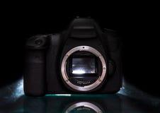 Appareil photo numérique moderne de s images libres de droits