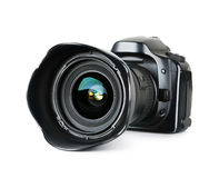 Appareil photo numérique noir Photo stock
