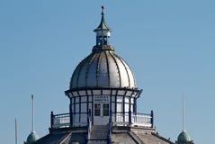 Appareil-photo Obscura, pilier d'Eastbourne Photos stock