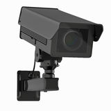 Appareil-photo ou caméra de sécurité de télévision en circuit fermé d'isolement sur le blanc Images libres de droits