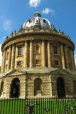 Appareil-photo Oxford Angleterre de Radcliffe d'Université d'Oxford Photographie stock libre de droits