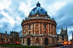 Appareil-photo Oxford de Radcliffe photos libres de droits