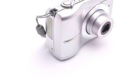 Appareil-photo pour tirer sur un fond blanc Images libres de droits