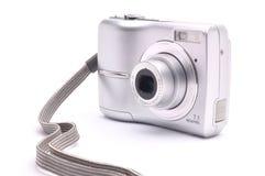 Appareil-photo pour tirer sur un fond blanc Photos libres de droits
