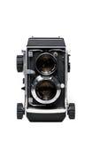 Appareil-photo réflexe de lentille jumelle Photographie stock libre de droits