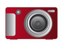 Appareil-photo rouge illustration stock