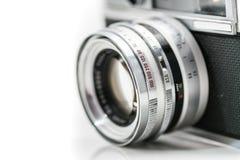 Appareil-photo très vieil de film de vintage, tir de studio Image libre de droits