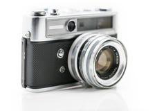 Appareil-photo très vieil de film de vintage, tir de studio Image stock