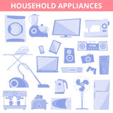Appareils électrodomestiques Image stock