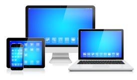 Appareils électroniques illustration libre de droits