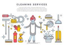 Appareils ménagers d'illustration plate illustration stock