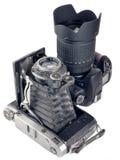 Appareils-photo. Photos stock