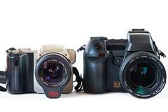Appareils-photo de DSLR images stock
