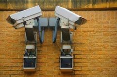 Appareils-photo de télévision en circuit fermé photo stock