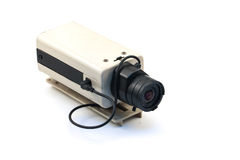 Appareils-photo de télévision en circuit fermé photographie stock