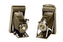 appareils-photo pliant le cru Photo libre de droits