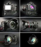 Appareils-photo professionnels Photo libre de droits