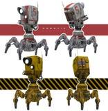 Appareils-photo robotiques illustration stock