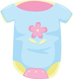 Apparel. Illustration of apparel on white Stock Image